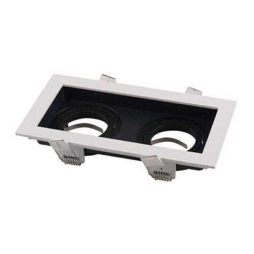 OT2015-armatura-kvadratna-2GU10-bijelo-crna-optonica-ledshop